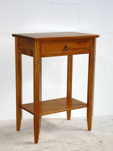 Massivholz Telefontisch honig farben Konsolentisch Nacht-kommode Beistell-tisch