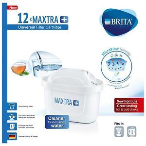 12-X-BRITA-Maxtra-Plus-Filtre-Carafe-a-Eau-Rechange-Cartouches-Recharges-GB