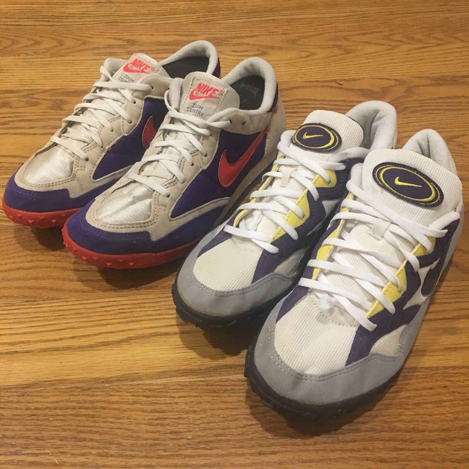 Vintage NIKE Zoom Country Rare Track Shoes 1997 Erin 70s 80s 90s Lot Erin 1997 Sicher Vntg 4f0d4c