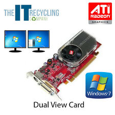 LOW PROFILE ATI RADEON X1300 GRAPHICS CARD - 256MB PCI-E DUAL VIEW - D33A27