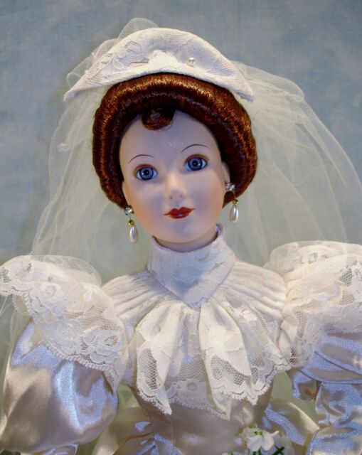 Betty's 1930's Wedding Dress Bride Doll by Ashton Drake