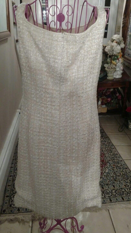 Joanna mastroianni Dress In Ivory In Größe 6