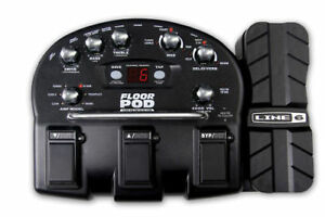 LINE-6-FLOOR-POD-GUITAR-MULTI-EFFECTS-PEDAL-PROCESSOR-amp-POWER-SUPPLY