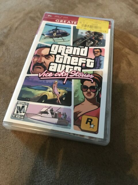 gta psp stories vice playstation map theft portable grand gh sony