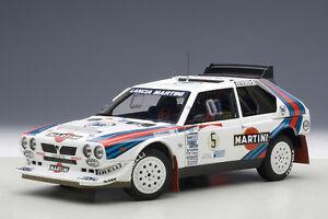 Autoart-Lancia-Delta-S4-Rally-Winner-Argentina-1986-Nuevo