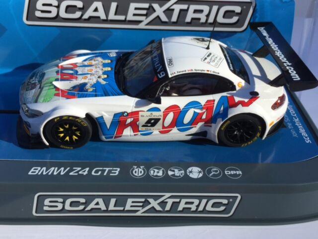 Scalextric C3848 BMW Z4 GT3 AMD Tuning #7 1//32 Slot Car *DPR*