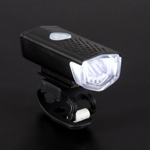 USB Rechargeable Bycicle Bike Front LED Light Headlamp Headlight Kit Waterproof