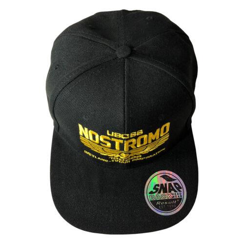 USCSS Nostromo Inspired by Alien Adjustable Snapback Cap Hat