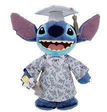 "Graduation Class of 2017 Stitch Plush 9"" Disney World Theme Parks NEW"
