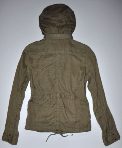 Up Style Hooded Marant Military Sz Letvægts 1 Jacket Green Isabel Zip Etoile H4qO00
