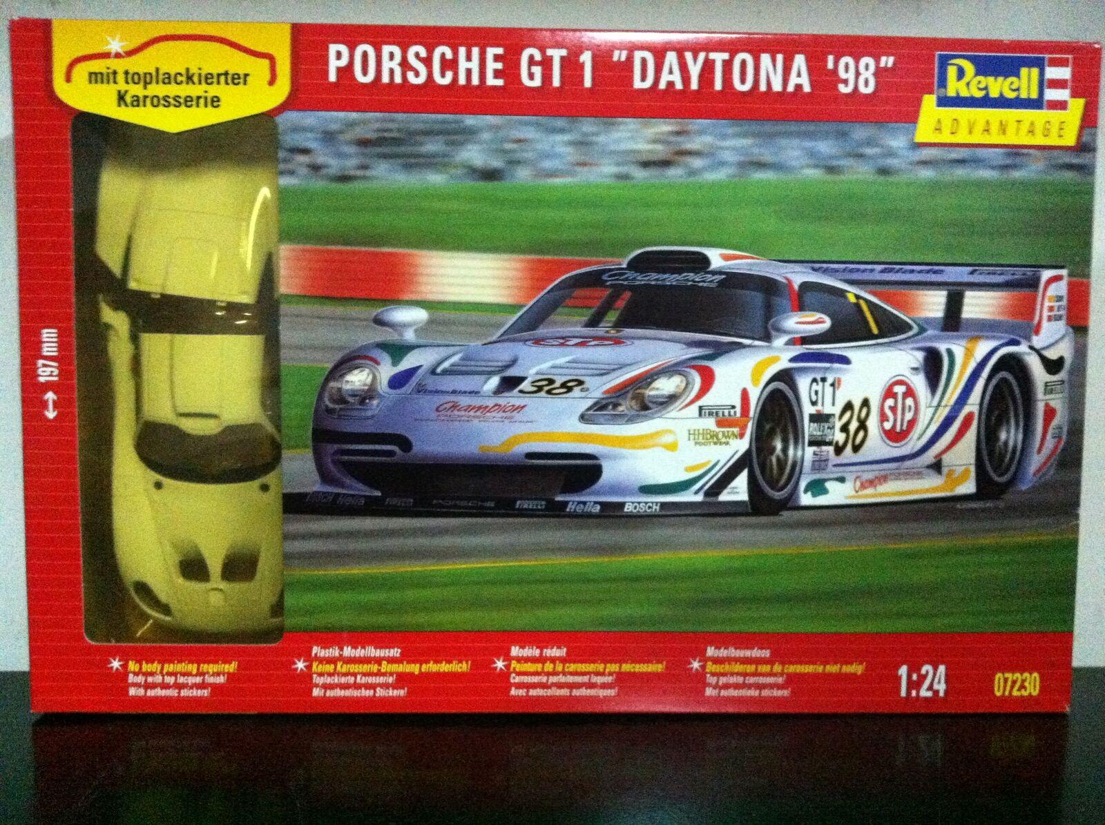 Revell Kit di Montaggio 1 24 7230 PORSCHE GT1 GT 1 DAYTONA'98 MIB, 1999