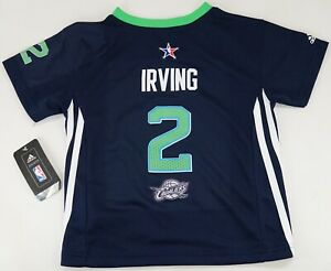 info for 365ee 7c051 Details about NEW Adidas 2014 NOLA NBA All Star East Kyrie Irving Cavaliers  Toddler Jersey