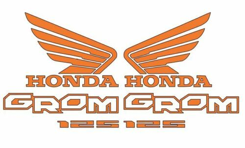 Honda GROM Decal Kit Motorcycle 125 graphics decals stickers Multiple colors