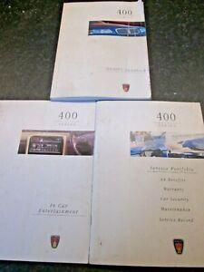 100% Vrai Rover Série 400 Owners Handbook, Service Book & En Voiture Entertainment-afficher Le Titre D'origine Belle Qualité