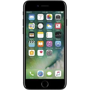 Apple iPhone 7 128GB Unlocked GSM Phone - Jet Black (Dents/Scratches)