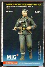 MIG PRODUCTIONS MP 35-116 - SOVIET NAVAL SOLDIER 1941-43 - 1/35 RESIN KIT