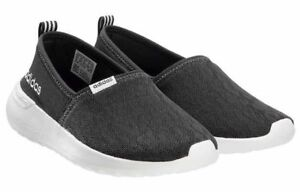 Adidas-Women-039-s-Black-White-CF-Lite-Racer-Cloudfoam-Slip-On-Sneaker-Shoes-AC8475