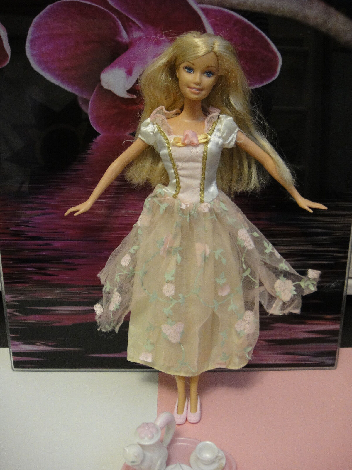 Barbie Princess Collection Tea Party Barbie As Annelise Teeparty Dorfmädchen