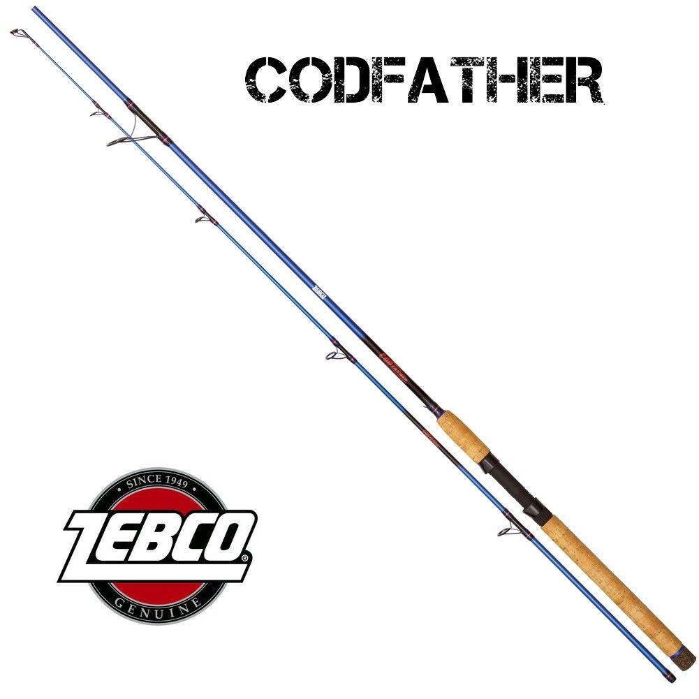 Top Meeres-Set Q-Tac ELECSA   ELECSA 8+1BB + Zebco Codfather 2,20 m 60 -180g de010a