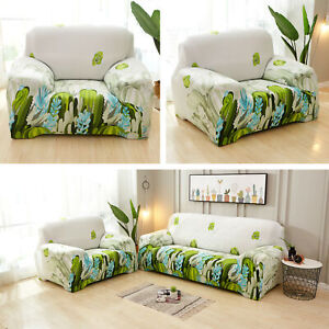 New-1-2-3-4-Seater-Stretch-Chair-Sofa-Covers-Couch-Cover-Elastic-Slipcover-Hot