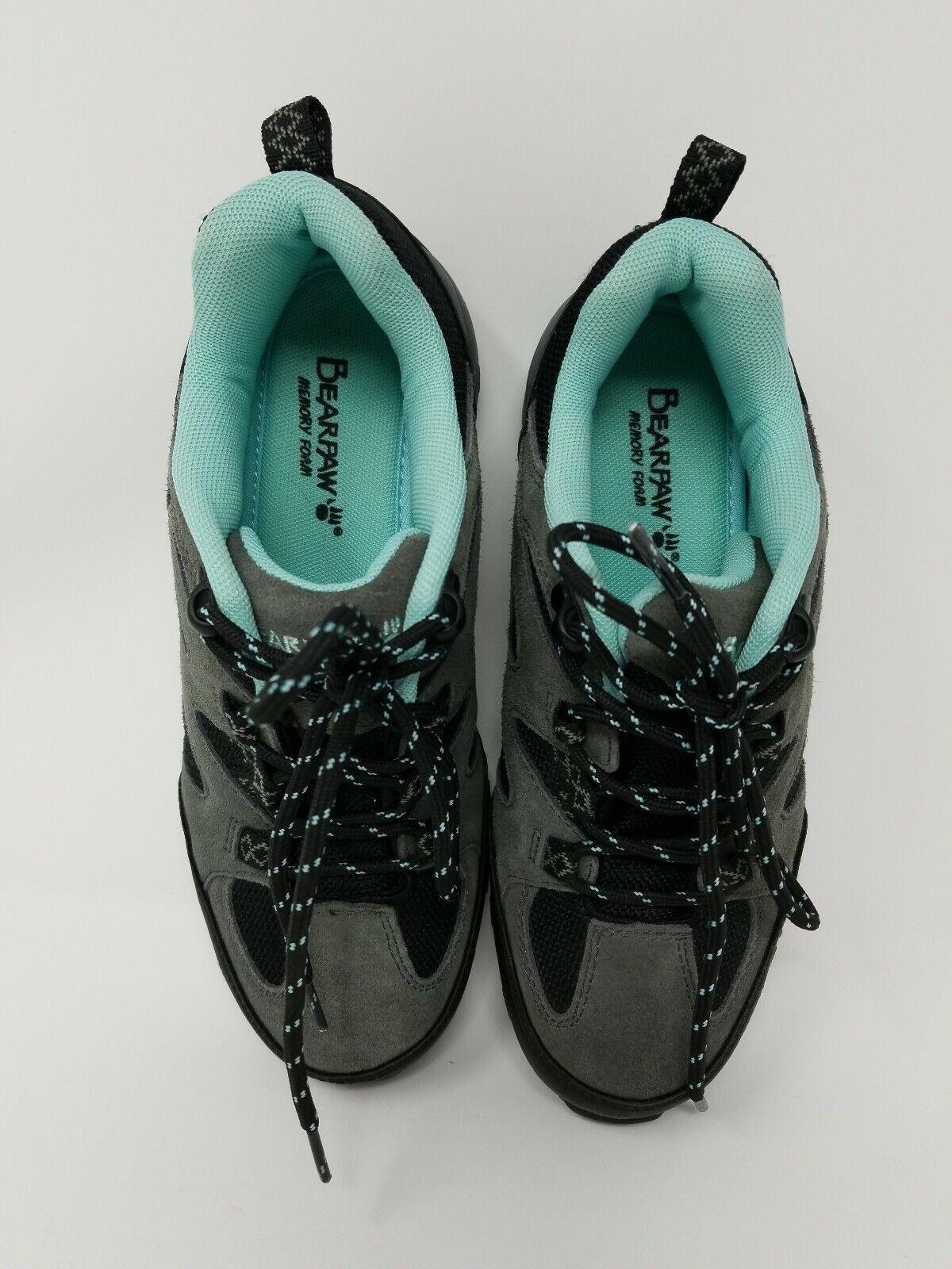 Bearpaw Women's Rhoda low Hiking Boot - Charcoal - Size  6