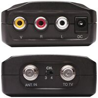 CRF907R RCA Compact RF Video Modulator for DVD to Old TV - NEW on Sale