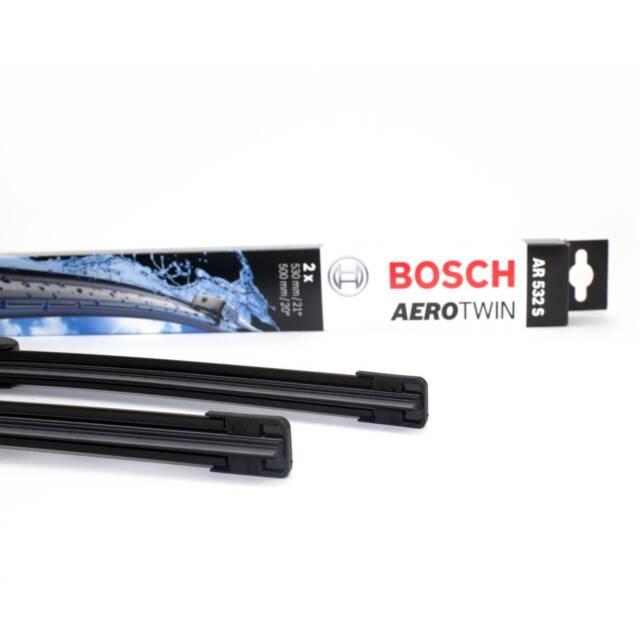 BOSCH Wischblätter Aerotwin AR532S Scheibenwischer 3397118986 530/500 mm VW