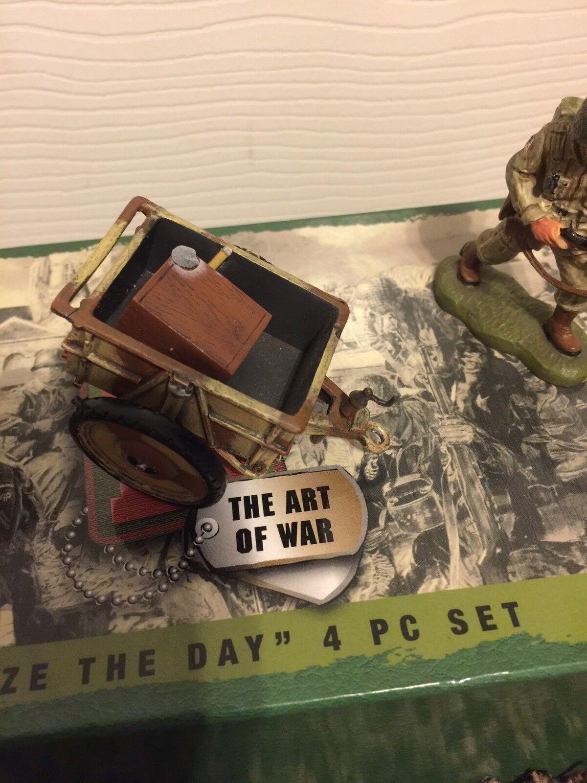 Britains 17462 WWII Seize the Day 4 piece piece piece set cd38fa