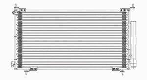 A//C Condenser TYC 3112