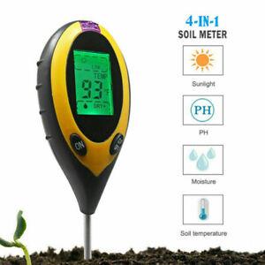 2//3//4 in 1 Soil Tester Water PH Moisture Light Test Meter for Garden Plant Seed
