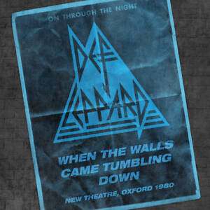 Def Leppard When the Walls Came Tumbling Down Record Store Day RSD Drops 2021