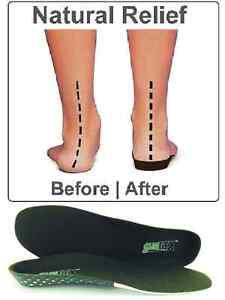 BRAND-NEW-Slimflex-Insoles-Orthotic-Heel-Cup-Arch-Support-PAIN-RELIEF-3-15