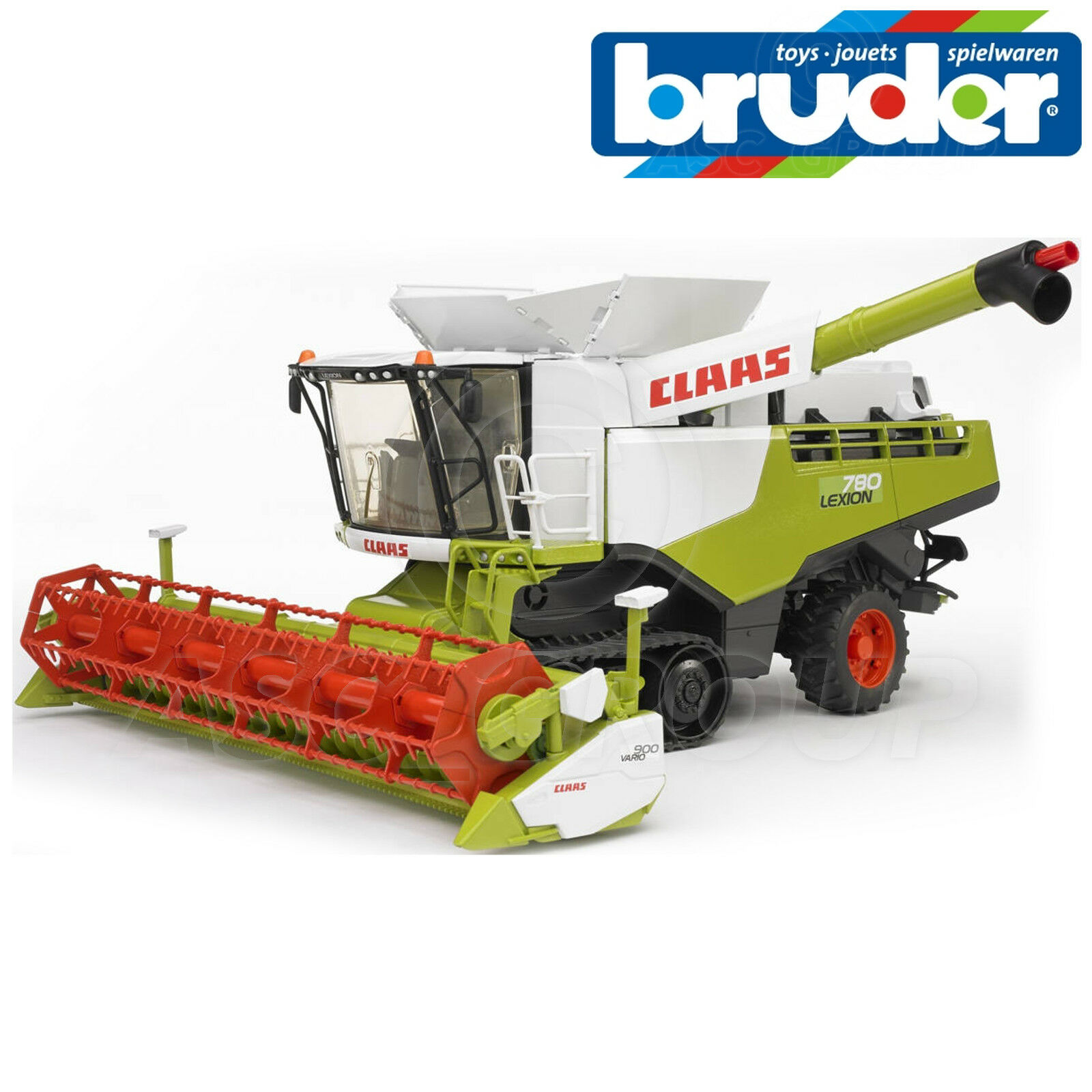 Bruder Toys 02119 CLAAS LEXION Terra Trac Combine Harvester 1 16 Scale Toy Model