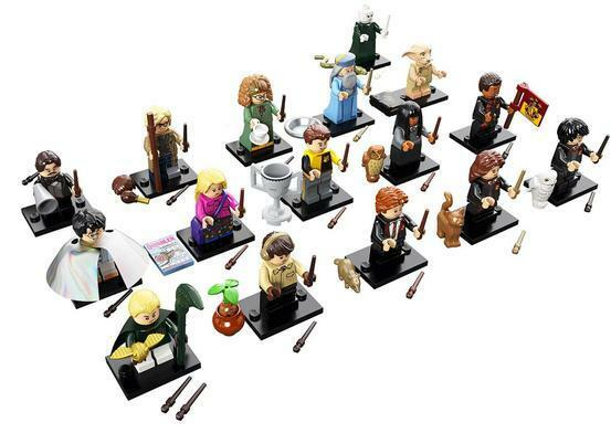 LEGO Harry Potter Minifigures set of 16 SEALED 71022 CMF NO fantastic beast