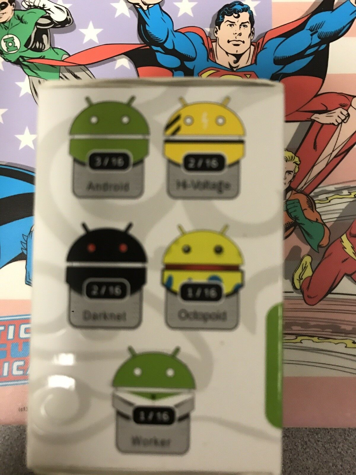 Andrew Bell Bell Bell Android Blind Box Figures Series 1 DeadZebra   Dystoplastic Sealed ee82c0