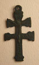 MEDAGLIA DEVOZIONALE  VOTIVA RELIGIOSA CROCE PASSIONE  relic reliquia