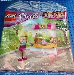 LEGO Friends 30113 Stephanie's Bakery Stand Polybag Minifigure NEW