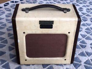 1951 Vintage Fender Champion 600 Champ Amp Tv Front Pré Tweed 3 W-afficher Le Titre D'origine Nous Avons Gagné Les éLoges Des Clients