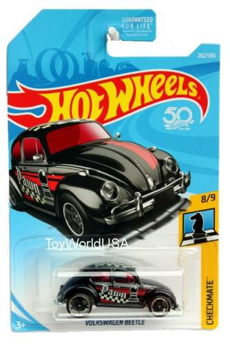 Hot Wheels Volkswagen Beetle Weiß Checkmate 8//9 2019 NEU