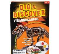 12 In Tyrannosaurus T-rex Excavation Kit Fossil Dig Dinosaur Bones Display Dptrx