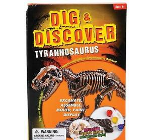 12 in Tyrannosaurus T-REX Excavation kit fossil dig DINOSAUR bones display DPTRX