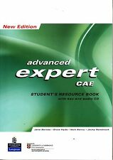 Longman CAE EXPERT Advanced NEW EDIT Student's Resource Book with Key & CD @New@