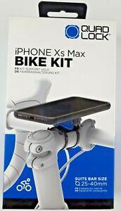 Quad-Lock-Bike-Mount-Kit-iPHONE-Xs-Max-Brand-New-slightly-damaged-box