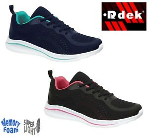 Ladies Lightweight Cushioned Trainers