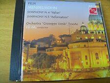 FELIX MENDELSSON SYMPHONY 4 & 5 LU JIA  CD REAL SOUND  AUDIOPHILE