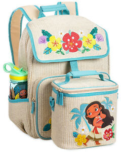 Details About Official Disney Moana School Backpack Matching Lunch Bag Box Hei