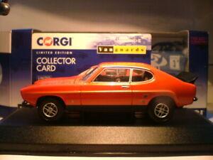 Raro-Vanguards-1-43-1974-Ford-Capri-RS3100-MK1-modelo-de-exportacion-de-Australia-RHD-nla