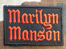 ECUSSON PATCH toppa aufnaher THERMOCOLLANT MARILYN MANSON métal rock  /8.3 x 5cm