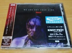 New-SLIPKNOT-WE-ARE-NOT-YOUR-KIND-WITH-BONUS-TRACK-2019-JAPAN-CD-F-S