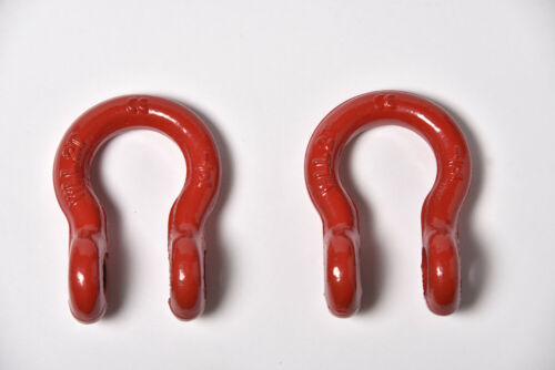 """2x 1//2/"""" Bow Shackle D-Ring w Clevis Screw Pin Anchor 2 TON 4400 lbs capacity"""